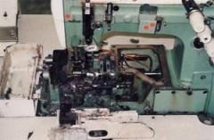 Nähmaschine vor Reingung © NT-Michel