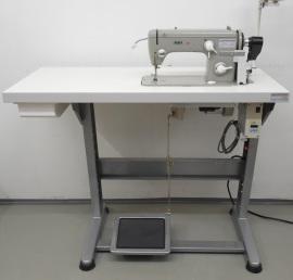 Pfaff 260 mit Gestell und Tischplatte