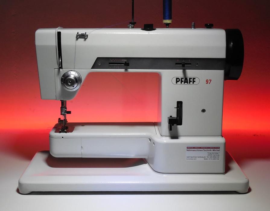 Pfaff Nähmaschinen  PFAFF Industrienähmaschinen  Hamburg -> Nähmaschine Nadel Bewegt Sich Nicht