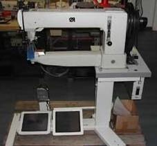 Industrie Nähmaschine für besonders dicke Materialien