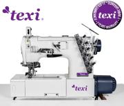 Übedecknaht-Nähmaschine, Interlock-Maschine treccia © texi