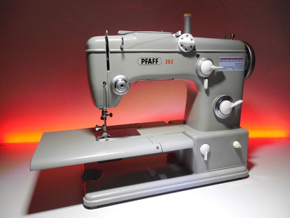 Pfaff 362 Automatic Nähmaschine gebraucht © NT-Michel