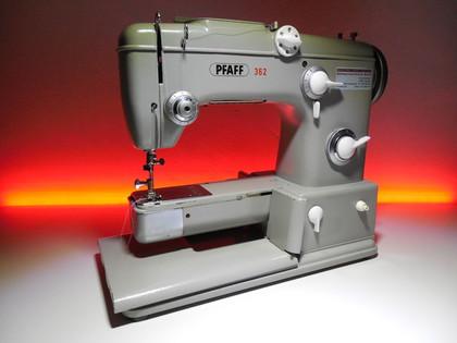 gebrauchte Pfaff Klasse 362 automatic Freiarm-Nähmaschinen © NT-Michel