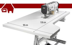 texi 1-Nadel Steppstich-Nähmaschine mit großer Tischplatte © texi