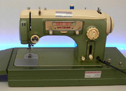 gebrauchte Gritzner GU Zaubermatic Radioskala Nähmaschine © NT-Michel