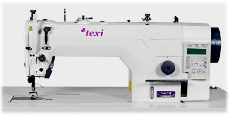Texi Tronic 7 NF Schnellnäher mit Nadeltransport